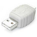 StarTech.com Cambiador de Género USB A Macho a USB B Hembra