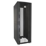Vertiv VR3157 armario rack 48U Rack o bastidor independiente Negro, Transparente