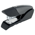 Rexel Gazelle Half Strip Stapler Black/Black
