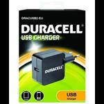Duracell DRACUSB2-EU Binnen Zwart oplader voor mobiele apparatuur