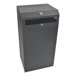 Tripp Lite 12U Wallmount Low-Profile Vertical-Mount Server-Depth Rack Enclosure Cabinet