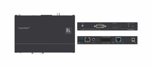 Kramer Electronics TP-588D AV extender AV receiver Black