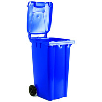 Office Supplies VFM FD REFUSE CONTAINER 240L 2 WHLD BLU 33