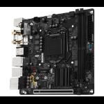 Gigabyte GA-H270N-WIFI Intel H270 LGA 1151 (Socket H4) Mini ITX motherboard