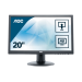 "AOC M2060PWDA2 LED display 49,6 cm (19.5"") 1920 x 1080 Pixeles Full HD Negro"