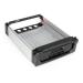 StarTech.com Black Aluminum 5.25in Rugged SATA Hard Drive Mobile Rack Drawer DRW150SATBK