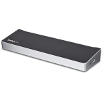 StarTech.com DK30CH2DEP notebook dock/port replicator USB 3.0 (3.1 Gen 1) Type-C Black,Silver