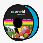 Polaroid PL-8023-00 3D printing material Polylactic acid (PLA) Light blue,Transparent 1 kg