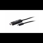 LMP USB-C to HDMI USB graphics adapter 3840 x 2160 Pixel Schwarz