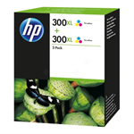 HP D8J44AE (300XL) Printhead color, 440 pages, 12ml, Pack qty 2