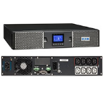 Eaton 9PX 1kVA Double-conversion (Online) 1000VA 8AC outlet(s) Rackmount/Tower Black uninterruptible power supply (UPS)