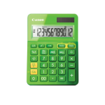 Canon LS-123k Desktop Basic calculator Green