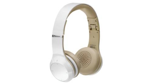 Pioneer SE-MJ771BT Head-band Binaural Wired White mobile headset