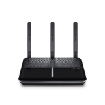 TP-LINK Archer AC1600 wireless router Dual-band (2.4 GHz / 5 GHz) Gigabit Ethernet 3G 4G Black,Silver