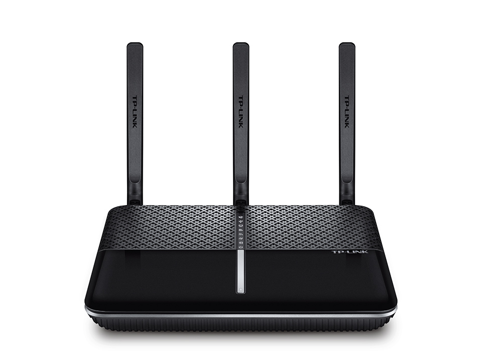 TP-LINK Archer AC1600 Dual-band (2.4 GHz / 5 GHz) Gigabit Ethernet 3G 4G Black,Silver wireless router
