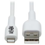 "Tripp Lite M100AB-02M-WH lightning cable 78.7"" (2 m) White"