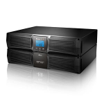 DELTA RT-Series Ture On-Line Double Conversion 1000VA/900W Tower/Rack(2U) LCD UPS, Include Bracket Ear/Rai