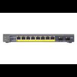 Netgear GS110TP Managed Gigabit Ethernet (10/100/1000) Grey Power over Ethernet (PoE)