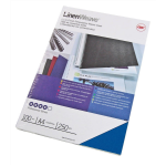 GBC LinenWeave Binding Covers 250gsm A4 Royal Blue (100)