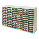 Fellowes 25121 72shelves Grey,White literature rack