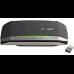 POLY 216867-01 altavoz Universal Negro, Plata Bluetooth