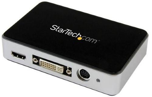 StarTech.com USB 3.0 Video Capture Device - HDMI / DVI / VGA / Component HD Video Recorder - 1080p 60fps
