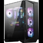 MSI MPG GUNGNIR 110R Mid Tower Gaming Computer Case Black, USB 3.2 Gen2 Type C, 4x 120mm ARGB Fan, Mystic Light Sync, 1 to 6 ARGB Control board, 2x Tempered Glass Panels, ATX, mATX, mini-ITX 306-7G10R11-W57