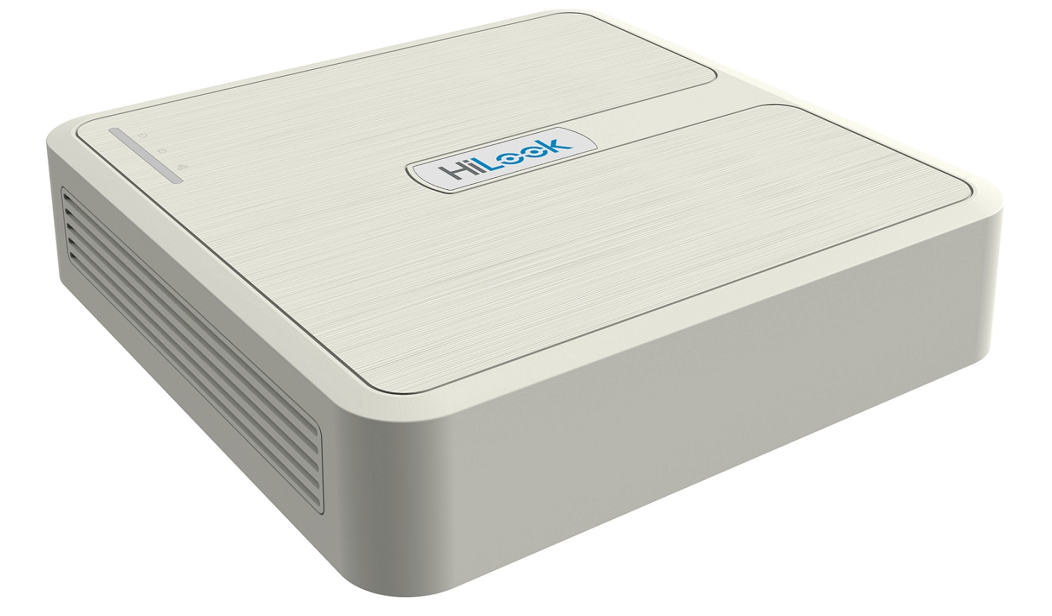 HiLook by Hikvision NVR-104H-D/4P 4 Channel 1080P IP Network NVR PoE Network Video Recorder H.265+ -White  NO HDD