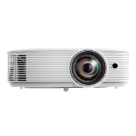 Optoma W318STe beamer/projector 3800 ANSI lumens DLP WXGA (1280x800) 3D Desktopprojector Wit