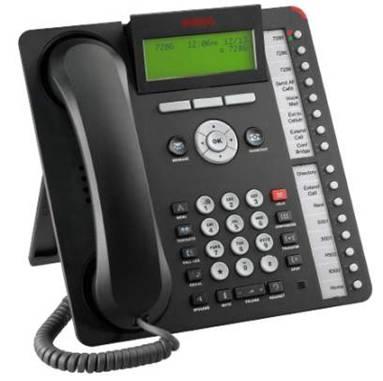 Avaya 1616 IP Phone Black