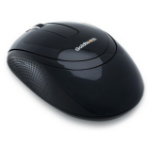 Goldtouch Ambidextrous Ergonomic Wireless Mouse. Black. Batteries and USB dongle included.