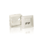 Equip Cat.6 German Modular Outlet Set socket-outlet