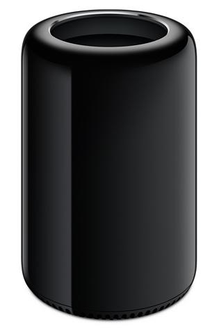 Apple Mac Pro - Tower - 1 x Xeon E5 / 3.7 GHz - RAM 12 GB - SSD 256 GB - FirePro D300 dual GPU - GigE - WLAN : Bluetooth 4.0, 802.11a/b/g/n/ac