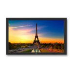 "NEC V551 139.7 cm (55"") Full HD Digital signage flat panel Black"