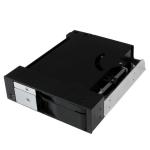 """StarTech.com 5,25"""" trayless hotswappable mobiel rekbackplane met dubbele bay voor 2,5"""" en 3,5"""" SATA-/SAS-HDD of -SSD met ventilator"""