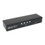 Tripp Lite B004-HUA4-K KVM switch Black