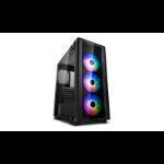 DeepCool MATREXX 50 ADD-RGB 3F Midi Tower Black,Transparent