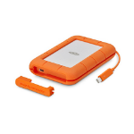 LaCie STFS500400 external solid state drive 500 GB Orange,White