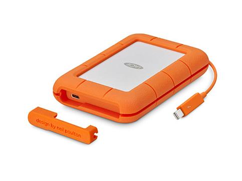 LaCie STFS500400 unidad externa de estado sólido 500 GB Naranja, Blanco
