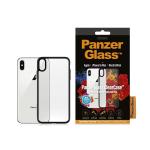 "PanzerGlass 0221 mobile phone case 16.5 cm (6.5"") Cover Black,Transparent"