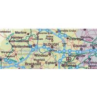 MAPMARK MAP BRITISH ISLES MOTORING