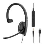 Sennheiser SC 135 USB-C Headset Head-band Black