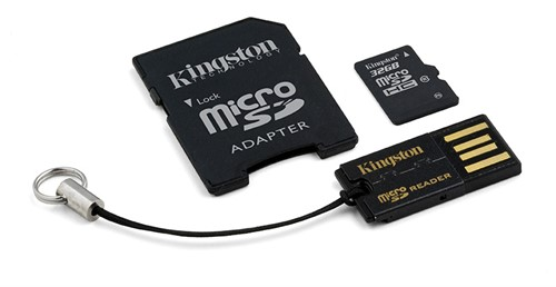 Kingston Technology 32GB Multi Kit memory card MicroSDHC Class 10 Flash