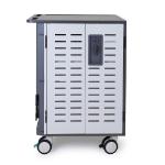 Ergotron DM40-2009-3 portable device management cart/cabinet Freestanding Silver