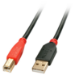 Lindy USB A/USB B 10m 10m USB A USB B Male Male Black, Red USB cable