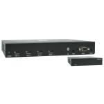 Tripp Lite 4-Port HDMI over Cat6 Presentation Switch/Extender Kit - 4K 60 Hz, UHD, 4:4:4, HDR, PoC, 38.1 m