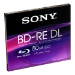 Sony BNE50B5 - BD-RE DL 50GB/1-2x Jewelcase 5 Disc -