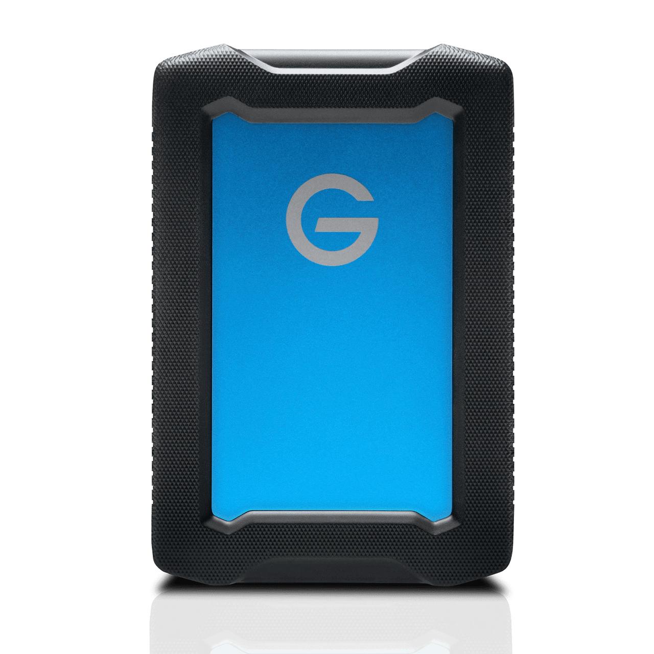 G-Technology ArmorATD disco duro externo 5000 GB Negro, Azul