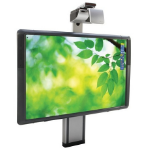 """Promethean 300PRO Range 78"""" ActivBoard with Adjustable Stand and DLP Extreme Short Throw Projector, comes with"""