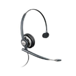 Plantronics HW710 Monaural Head-band Black headset